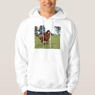 Horses racing sweatshirt