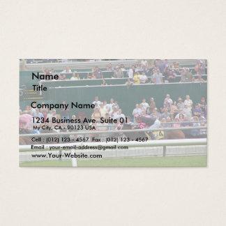 Horses Racing Tracks Business Card