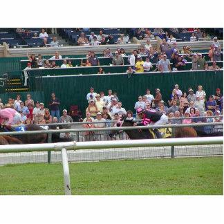 Horses Racing Tracks Photo Cutouts