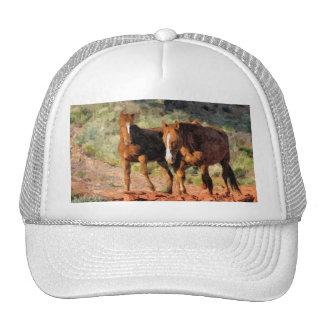 Horses roaming in Monument Valley, UT Trucker Hat