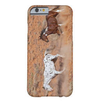 Horses roaming the Big Horn MT of Shell Wyoming. 2 Barely There iPhone 6 Case
