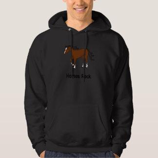 Horses Rock (bay) Hooded Sweatshirt