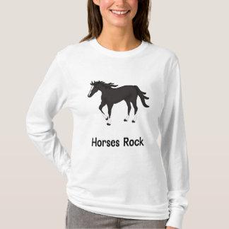 Horses Rock (black) T-Shirt