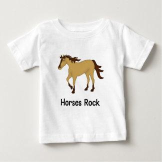 Horses Rock (buckskin) Baby T-Shirt