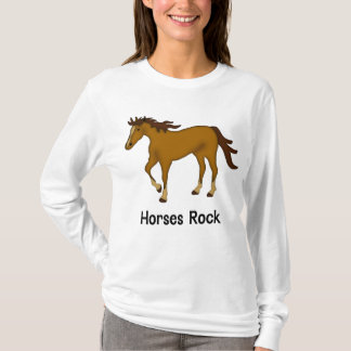 Horses Rock (chestnut) T-Shirt
