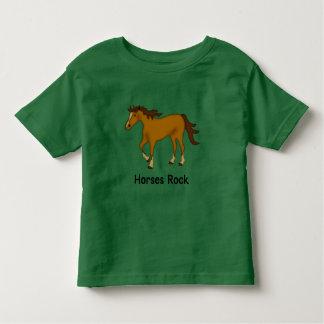 Horses Rock (chestnut) Toddler T-shirt