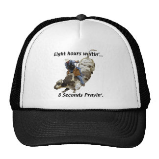 Horses, Rodeo, Bull Riding Trucker Hat