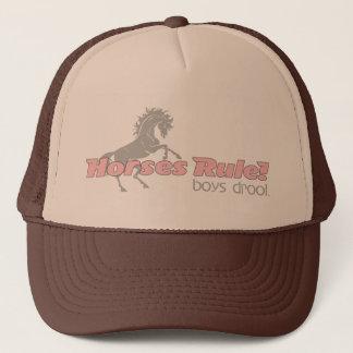 Horses Rule Boys Drool Trucker Hat