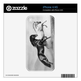 Horses Run iPhone 4S Decal