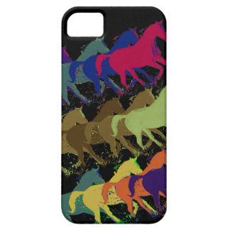horses running iPhone 5 covers