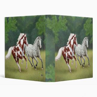 Horses Running Free Avery Binder