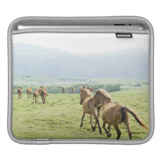 Horses running sleeve for iPads