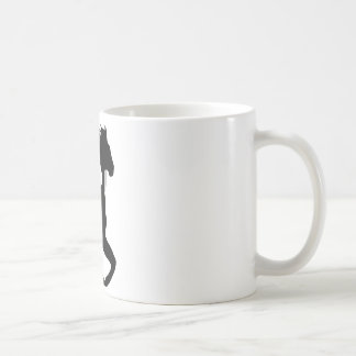 horses running together cup mug