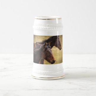 Horses Side By Side Coffee Mug