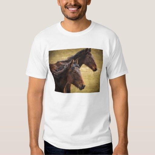 Horses Side By Side Shirt