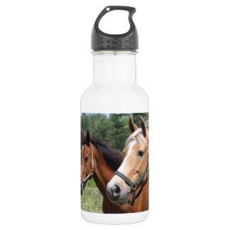Horses Stainless Steel Water Bottle
