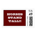 HORSES STAND TALL!! POSTAGE STAMPS
