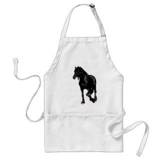 Horses sudden turn adult apron