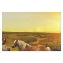 Horses Tissue Paper