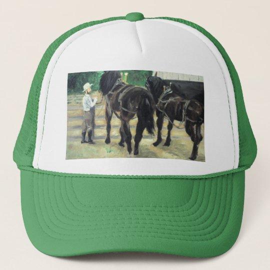 Horses Trucker Hat