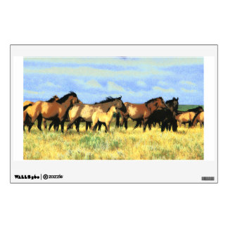 horses wall decal