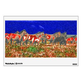 horses wall sticker