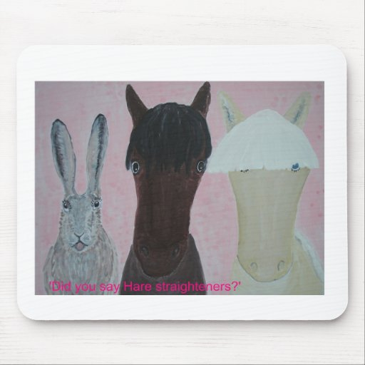 Horses Whispering Mouse Pad