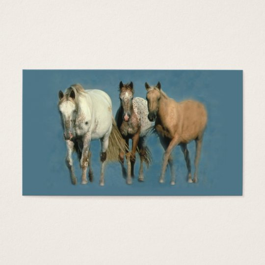 Horses Wild and Wonderful Business Card