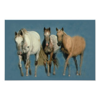 Horses Wild and Wonderful Print