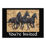 Horses Wild Invitation