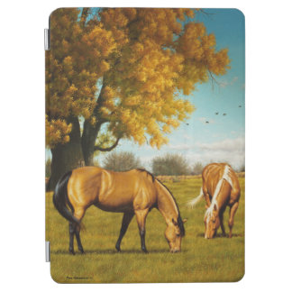 Horses with Fall Colors iPad Cover