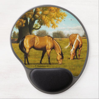 Horses with Fall Colors. Mouse Pad Gel Mouse Pad