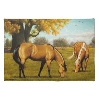 Horses with Fall Colors Placemat