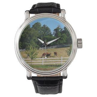 Horses Wristwatch