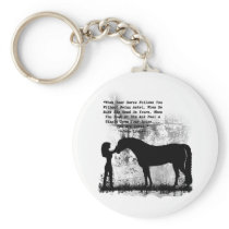 Horses- You Are Loved Keychain