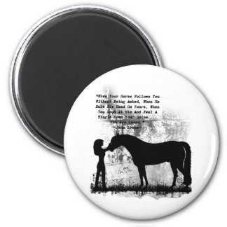 Horses- You Are Loved Refrigerator Magnets