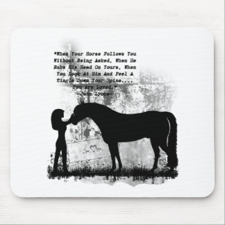 Horses- You Are Loved Mouse Pad