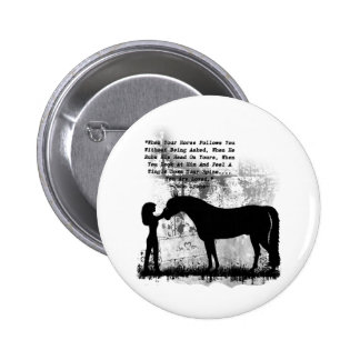 Horses- You Are Loved Pinback Button