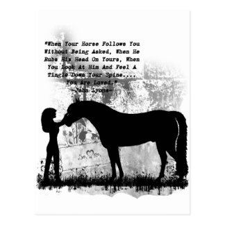 Horses- You Are Loved Postcard
