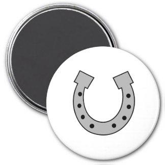 horseshoe 3 inch round magnet