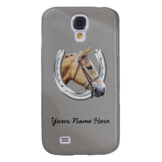 Horseshoe and horse galaxy s4 cover