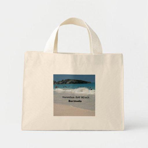 Horseshoe (BAY BEach) Bermuda Canvas Bags
