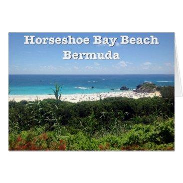 celestesheffey Horseshoe Bay Beach, Bermuda Card