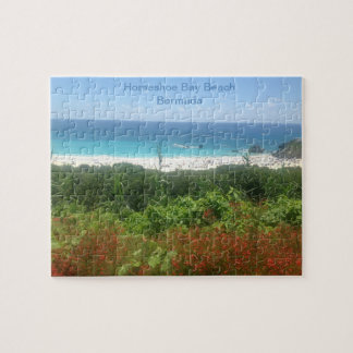 Horseshoe Bay Beach, Bermuda Jigsaw Puzzle