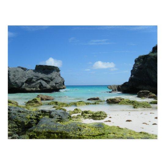 Horseshoe Bay Beach Rocks Postcard