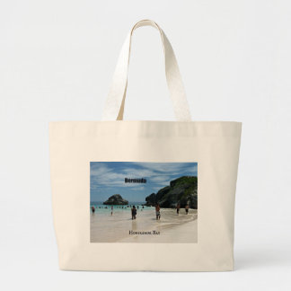 Horseshoe Bay, Bermuda Jumbo Tote Bag