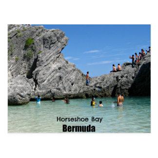 Horseshoe Bay, Bermuda Postcard