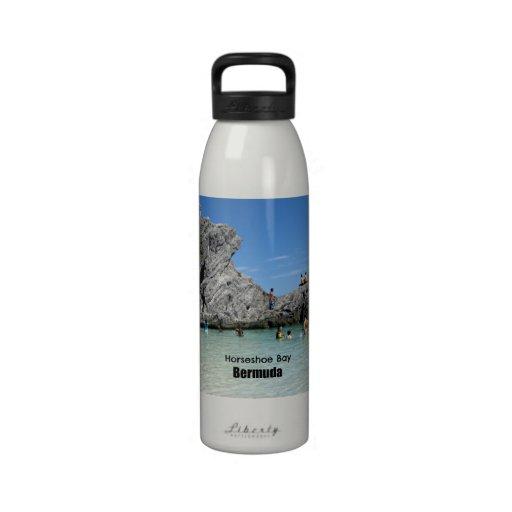 Horseshoe Bay, Bermuda Reusable Water Bottles