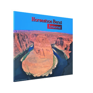 Horseshoe Bend, Arizona Gallery Wrap Canvas