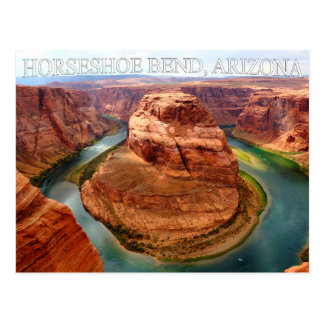 Horseshoe Bend Arizona Glen Canyon Postcard